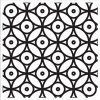 Intersezioni Di Dischi In Bianco E Nero Fine-Art Print