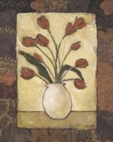 Blooms in Border II Fine-Art Print