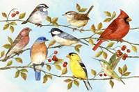 Birds & Berries V Fine-Art Print