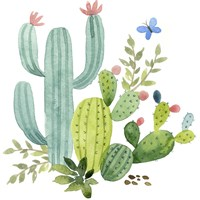 Happy Cactus IV Fine-Art Print