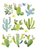 Happy Cacti Fine-Art Print