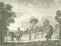 Equestrian Scenes II Fine-Art Print