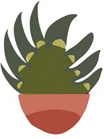 Mod Cactus IX Fine-Art Print