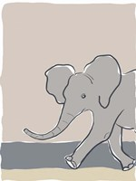 Pastel Zoo III Fine-Art Print