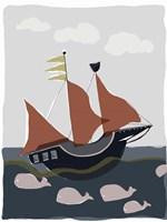 Oceans Ahoy II Fine-Art Print