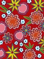 Bright Flowers I Fine-Art Print