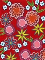 Bright Flowers II Fine-Art Print