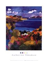 Coast of Saint-Jean & Saint-Barthele Fine-Art Print