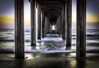 Cali Pier Sunset Fine-Art Print