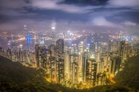 View from The Peak Hong Kong Fine-Art Print