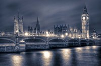 The Houses of Parliament at Night Fine-Art Print
