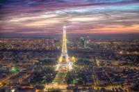 Eiffel Tower Light Show Fine-Art Print