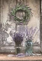 Cutting Lavender Fine-Art Print