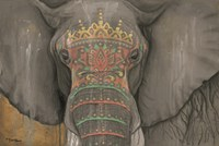 Tattooed Elephant Fine-Art Print