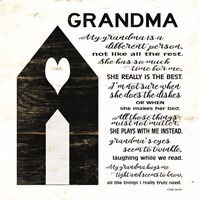 My Grandma is the Best Fine-Art Print