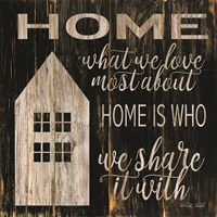 Home is Who We Share It With Fine-Art Print