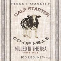 Calf Starter Fine-Art Print