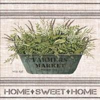 Galvanized Farmer's Market Home Sweet Home Fine-Art Print