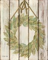 Rope Hanging Wreath Fine-Art Print
