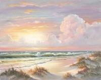 Golden Sunset on Crystal Cove Fine-Art Print