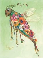 Botanical Grasshopper Fine-Art Print