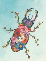 Botanical Beetle Fine-Art Print