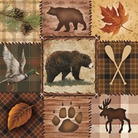 Wildlife Icons Fine-Art Print