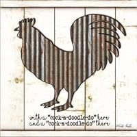 Metal Rooster Fine-Art Print