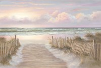 Sunrise Walk Fine-Art Print