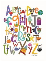 Colorful Alphabet Fine-Art Print
