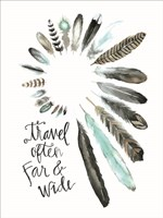 Travel Often Far and Wide Fine-Art Print
