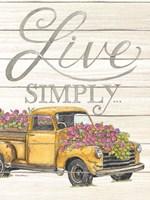 Live Simply Fine-Art Print