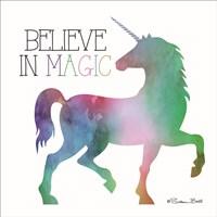 Believe in Magic Unicorn Fine-Art Print