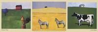 Farmhouse Trilogy Fine-Art Print