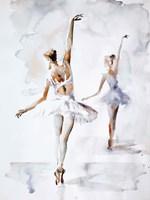 Ballerina In Blue Fine-Art Print