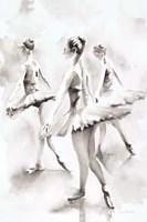 Three Ballerinas Fine-Art Print