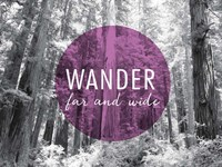 Wander Far and Wide v2 Fine-Art Print