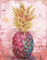 Painted Pineapple I Fine-Art Print