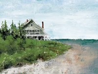 Beach Cottage Life Fine-Art Print