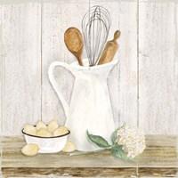 Vintage Kitchen II Fine-Art Print