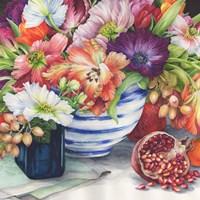 Vibrant Bouquet Still Life Fine-Art Print