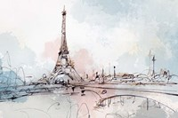 Blushing Paris Fine-Art Print