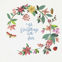 Do Everything with Love Fine-Art Print