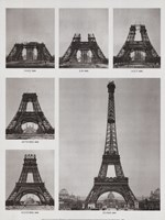Eiffel Tower Construction Fine-Art Print