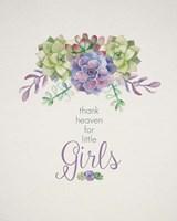 Thank Heaven for Little Girls Fine-Art Print