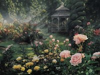 Rose Garden - Paradise Found Fine-Art Print