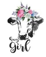 Hay Girl Fine-Art Print