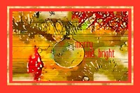 Merry and Bright II Fine-Art Print