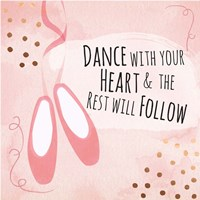 Dance with Your Heart Fine-Art Print