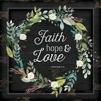 Faith, Hope and Love Fine-Art Print